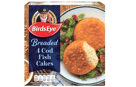 4 Cod Fish Cakes