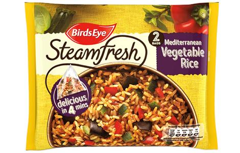 vegetable rice frozen