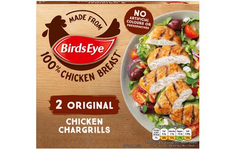 Birds Eye 2 Original Chicken Chargrills