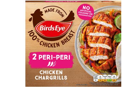 Birds Eye 2 Peri Peri Chicken Chargrills