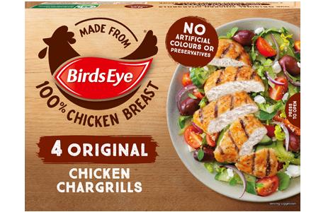 Birds Eye 4 Original Chicken Chargrills