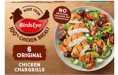 Birds Eye 6 Original Chicken Chargrills