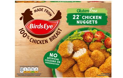 Birds Eye 22 Gluten Free Chicken Nuggets 455g