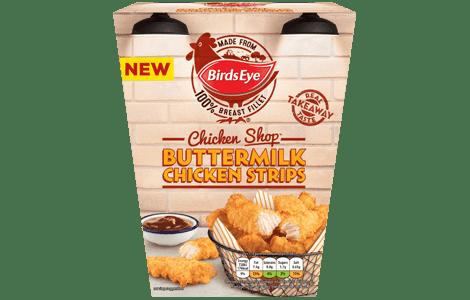 Birds Eye Chicken Shop Buttermilk Chicken Strips