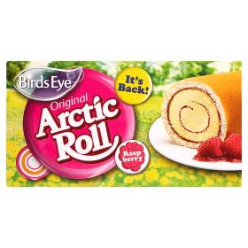 Raspberry roll