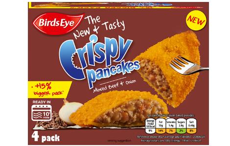 Birds Eye Minced Beef Crispy Pancakes