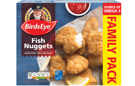 fish nuggets family pack