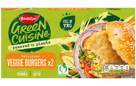 Birds Eye Green Cuisine 2 Veggie Burgers