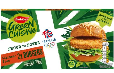 Birds Eye Green Cuisine 2 Chicken-Free Burgers