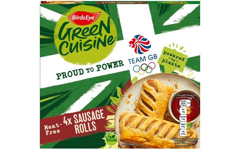 Birds Eye Green Cuisine 4 Meat-Free Sausage Rolls