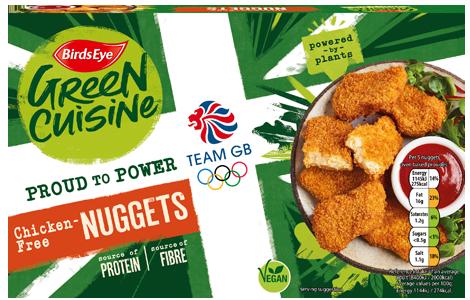 Birds Eye Green Cuisine Chicken-Free Nuggets