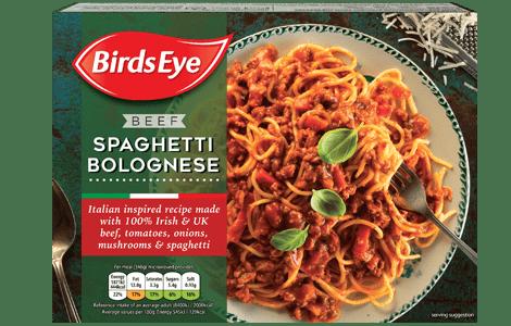 Birds Eye Spaghetti Bolognese