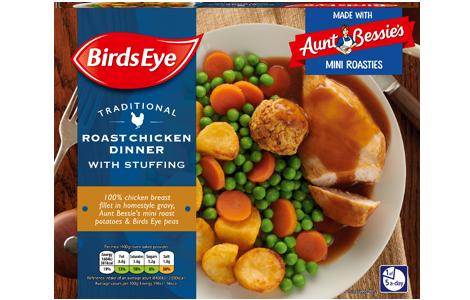 Birds Eye Chicken Roast Dinner with Aunt Bessies