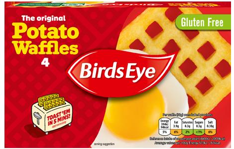 Birds Eye 4 Potato Waffles