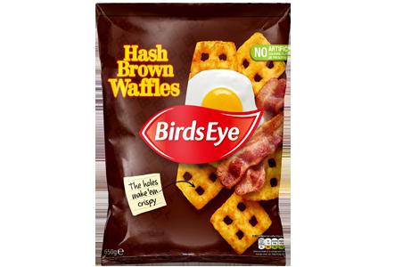 Birds Eye Hash Brown Waffles