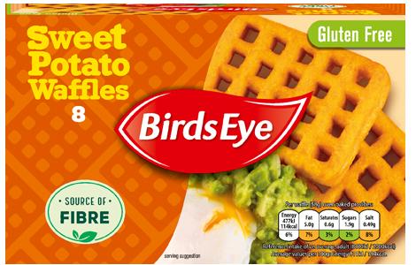 Birds Eye 8 Sweet Potato Waffles