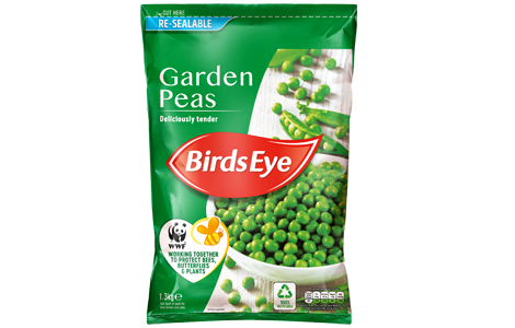 Garden Peas 1.3KG WWF