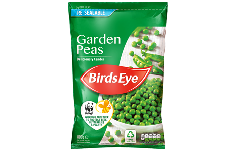 Garden Peas 800g WWF