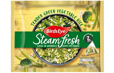 Birds Eye SteamFresh Green Vegetable Rice