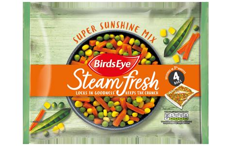 Birds Eye SteamFresh Super Sunshine Mix