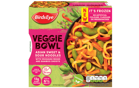 Birds Eye Veggie Bowl Italian Risotto