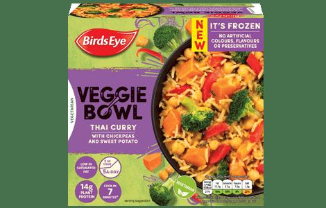 food veggiebowl thaicurry