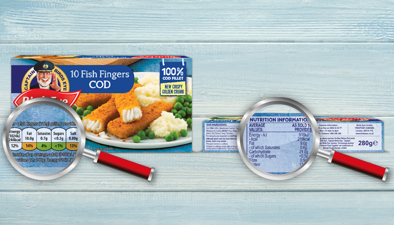 Fish Fingers Nutritional Info