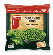 Producto guisantes finos Findus 180 x 189