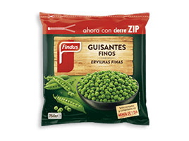 Producto guisantes finos Findus 268 x 200