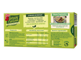Green Cuisine varitas espinacas