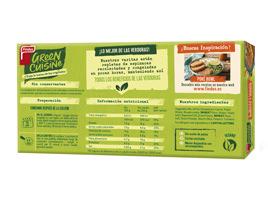 Green Cuisine medallones de boniato y quinoa