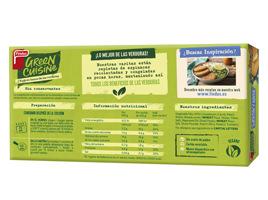 Green Cuisine medallones de coliflor y queso