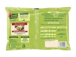 Green Cuisine veggie bowl calabacín y guisantes