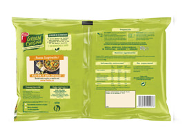 Green Cuisine veggie bowl quinoa con guisantes