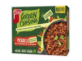 Picadillo de proteína vegetal sin carne Green Cuisine Findus