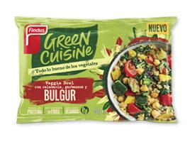 Veggie bowl con guisantes, calabacín y bulgur Green Cuisine Findus