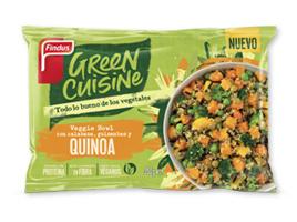 Veggie bowl con guisantes, calabaza y quinoa Green Cuisine Findus