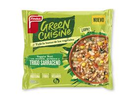 Veggie bowl con trigo sarraceno Green Cuisine Findus