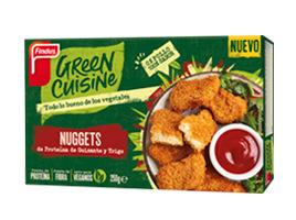 Nuggets vegetarianos 0% pollo