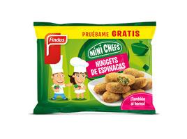 Nuggets de espinacas Findus