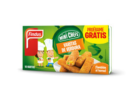 Varitas de verduras Findus