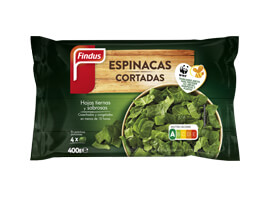 Espinacas cortadas Findus 400 g