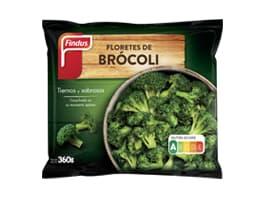 Floretes brócoli