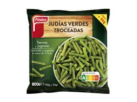 Judias verdes troceadas Findus 800 g