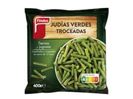 Paquete judias verdes troceadas 400 g Findus