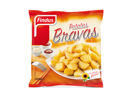 Patatas bravas Findus