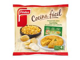 Preparado tortilla de patata con cebolla  Findus