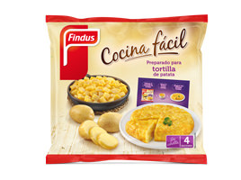 Preparado  tortilla de patata Findus
