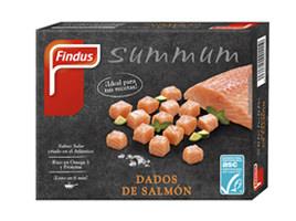 Dados de salmón del atlántico