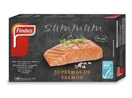 Supremas de salmón